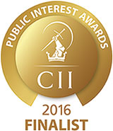 CII Awards 2016 Finalist