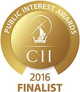 CII Awards 2016 Finalist
